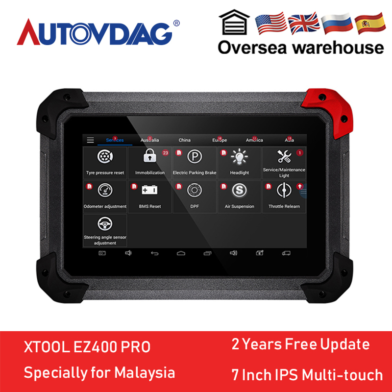 US $467 2 27% OFF|XTOOL EZ400 PRO Malaysia Auto Diagnostic Tool Code Reader  Key Programmer Read ECU/DTCs /Live Data /Clear DTCs for ford WIFI-in Auto