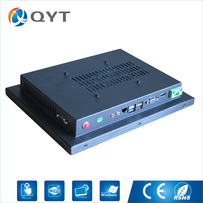 Embedded pc 11.6 inch Touch Wide Screen 4GB/8GB DDR3 32GB SSD Resolution 1366x768 Desktop pc intel N3150 Industrial Computer