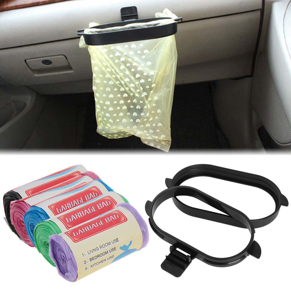 Bracket Garbage-Bags Vehicle Plastic Kitchen/car-Rubbish-Bag Trash-Holder Pasted Home