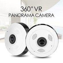 VR13 HD Fisheye Беспроводной ip-камера 960 P 360 градусов полный вид Мини CCTV Камера 1.3MP домашней безопасности Wi-Fi VR Камера панорамный ИК ЕС