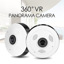 VR13 HD FishEye Wireless IP camera 960P 360 degree Full View Mini CCTV Camera 1.3MP Home Security WiFi VR Camera Panoramic IR EU