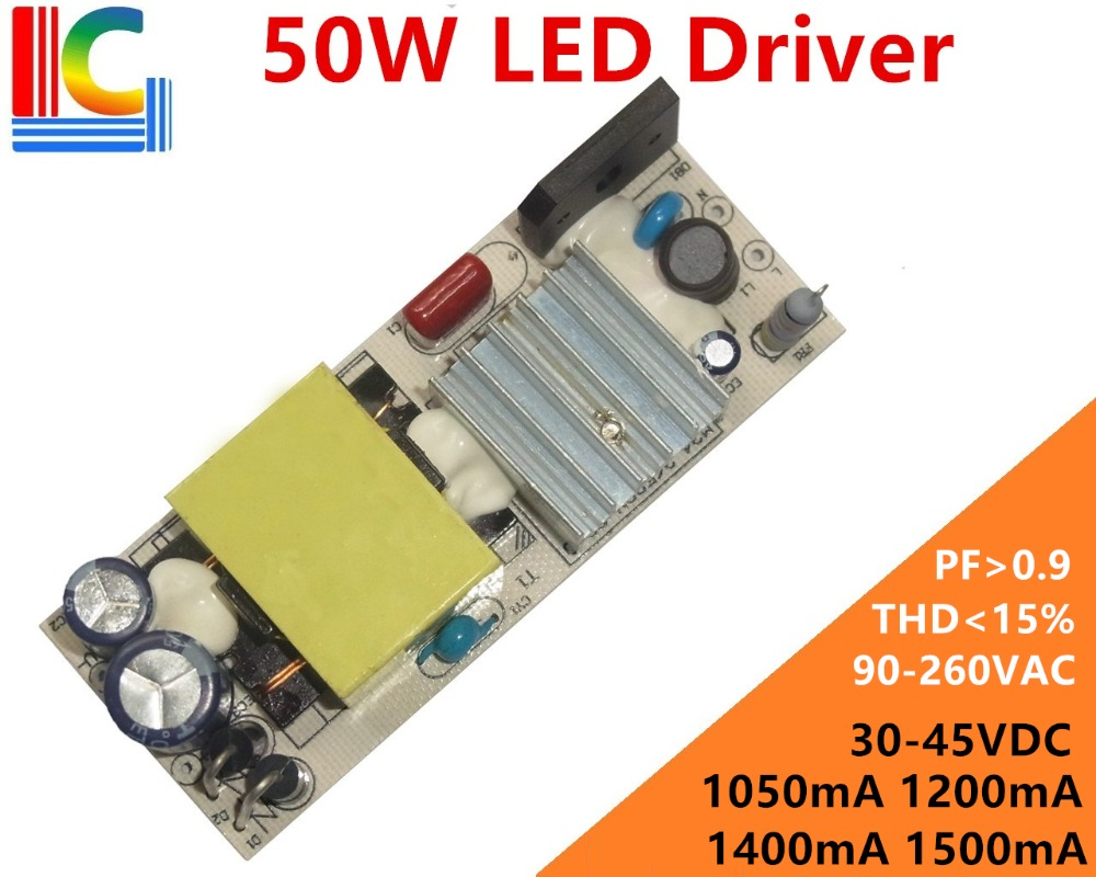 50W Lighting Transformer THD <=15% LED Driver Adapter 1050mA 1200mA 1400mA 1500mA Power Supply LED Corn lamp & LED Panel light 50W Lighting Transformer THD <=15% LED Driver Adapter 1050mA 1200mA 1400mA 1500mA Power Supply LED Corn lamp & LED Panel light