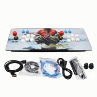 Newest box Heros 5 2020 in 1 console usb arcade joystick arcade controller game station DIY kit parts buttons For pandora box
