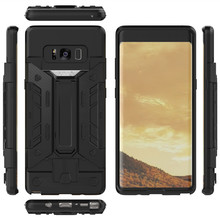 Luxury Hybrid Armor Cases For Samsung Galaxy Note 8 Card Slot Holder Shockproof Protective Back Cover For Samsung Note 8 Case