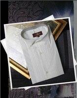 New Style Cotton White Men Wedding/Prom/Dinner Groom Shirts Wear Bridegroom Man Shirt ( 37 46 ) D52