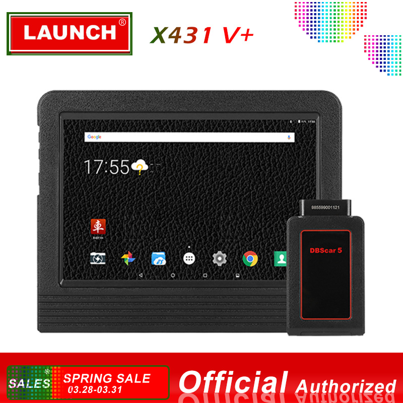 Launch X431 V + Automotive Diagnostic Tool Full System Diagnostics Scan Tools Car Scanner Autoscanner ECU Coding X 431 V Plus-in Engine Analyzer from Automobiles & Motorcycles