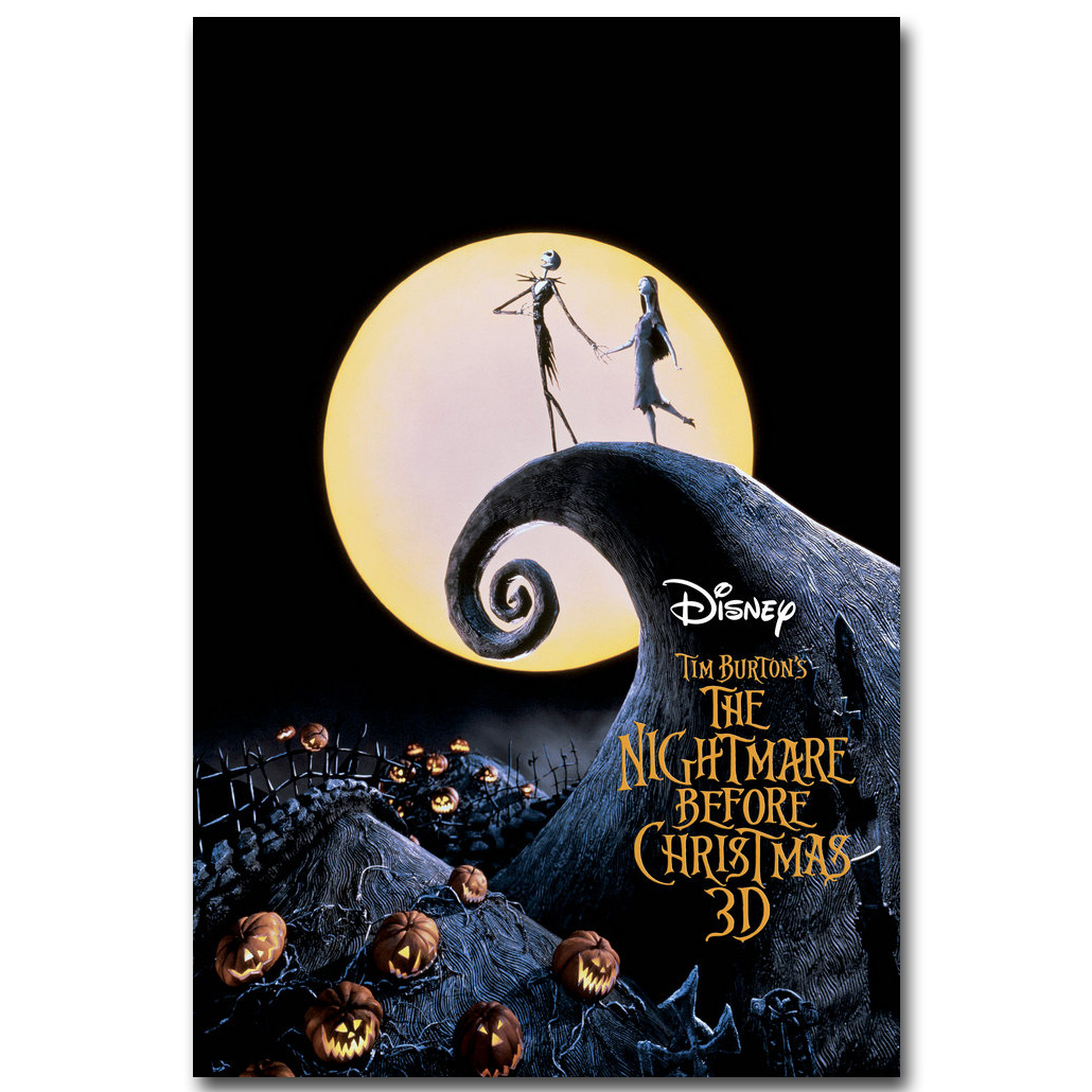 The Nightmare Before Christmas Art Silk Poster Print 13x20 24x36 ...