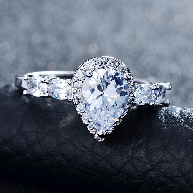 Fworld Popolare Matrimonio Romantico Amore Anelli Per Le Donne Di