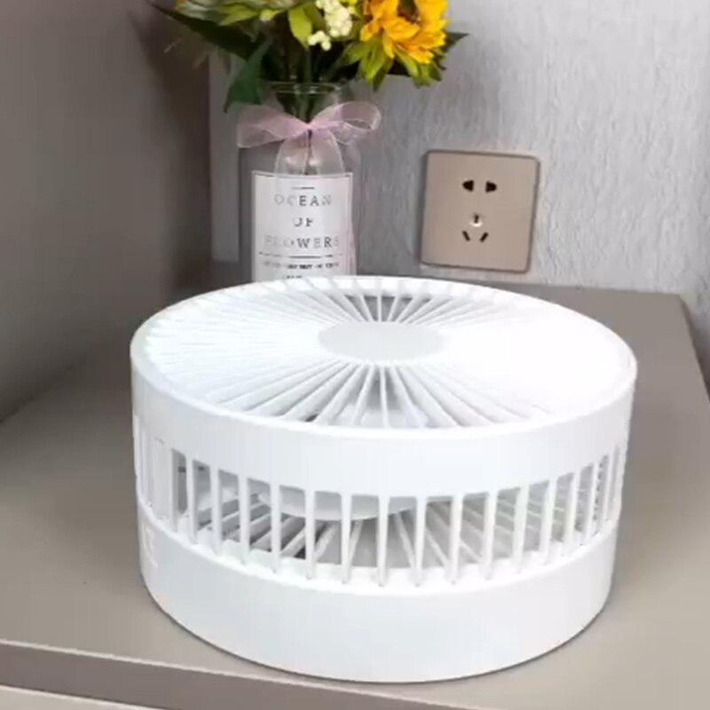 Nouveau pliant télescopique mini ventilateur USB rechargeable étudiant portable petit lit dortoir électrique bureau bureau grande batterie de vent - 2