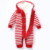 Outono e inverno Bebê Menina Meninos Outwear Quente Grosso Listrado Camisola de Malha de Lã para o Inverno Infantil Crianças Roupa Com Capuz