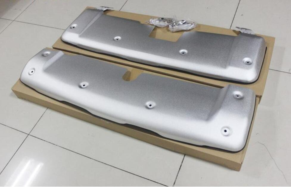 ATU 2007 2014 Ford Edge Stainless Steel Rear Bumper Guard Single Tube