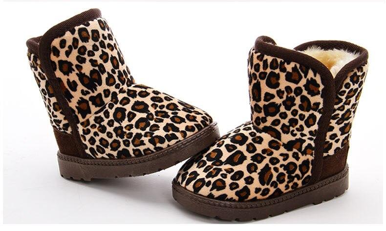 Aliexpress.com : Buy Children Snow Boots Kids Girls Fur Boots ...