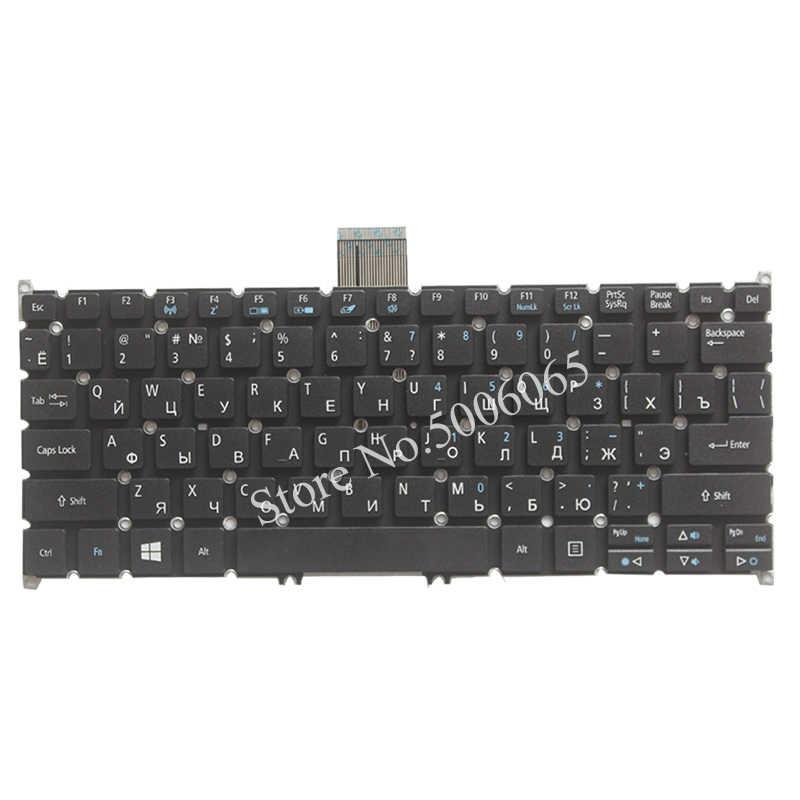 Nuevo teclado ruso para Acer Aspire ES1-111 ES1-111M ES1-311 ES1-331 ES1-111M ES1-131 R3-131T. Teclado
