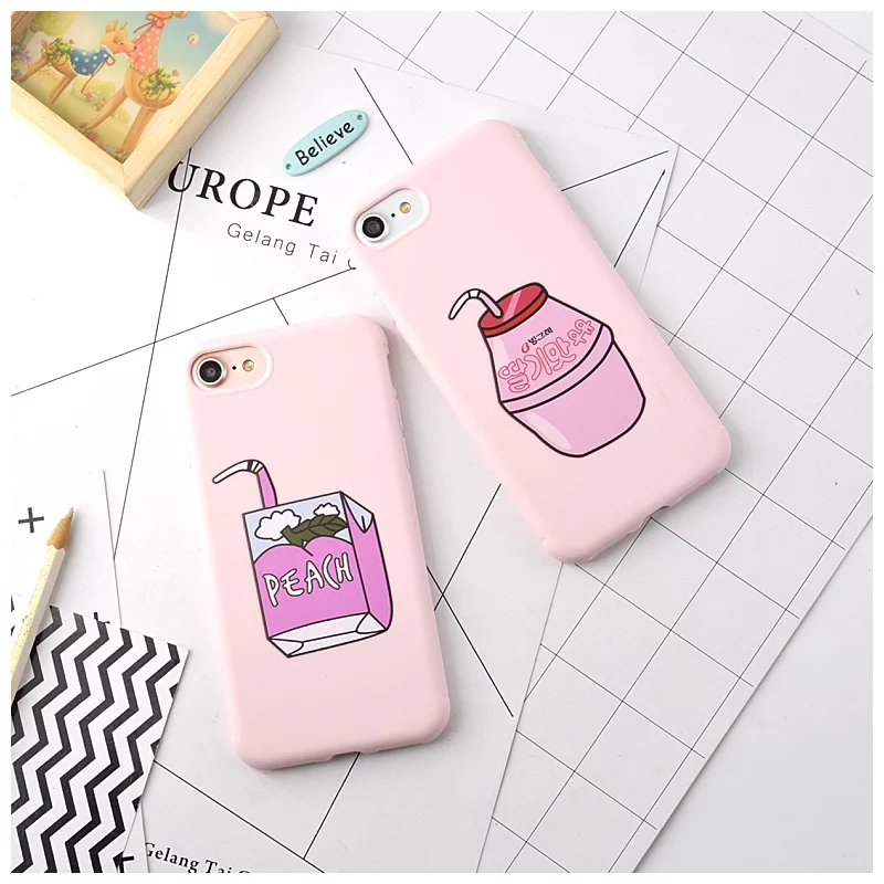 Hazy beauty For  iphone 6 6 s case New cartoon soft Cute silicagel TPU soft case For  iphone 6 6 s 6plus 6splus 7 7plus Cover