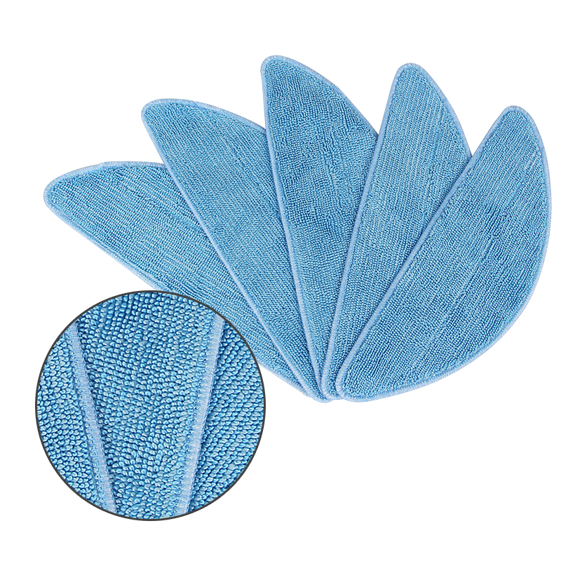 5 pcs vacuum cleaner Mop Cloth for ilife V3 v3s pro v3s ilife v5s pro V5 CW310 v5s x5 v50 robot vacuum cleaner parts replacement original vacuum cleaner parts for ilife v3s pro v3l v5 ilife v5s pro v50 x5 robot vacuum cleaner main engine ventilator motor