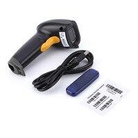 Frequency 433MHZ One Dimensional Laser Wireless Bar Code Scanning Guns USB Handheld Wireless Barcode Scanner