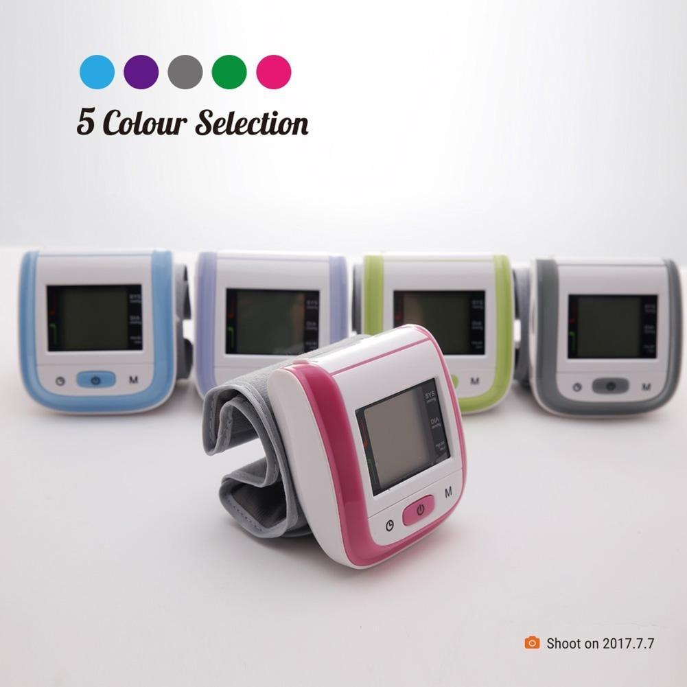 35 # LCD affichage numérique médical maison oxymètre de pouls poignet moniteur de pression artérielle thermomètre