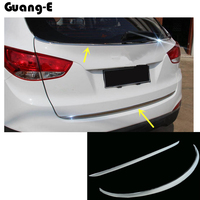 High Quality For Hyunda1 IX35 2010 2011 2012 Car Stick Body Cover ABS Rear Door Tailgate