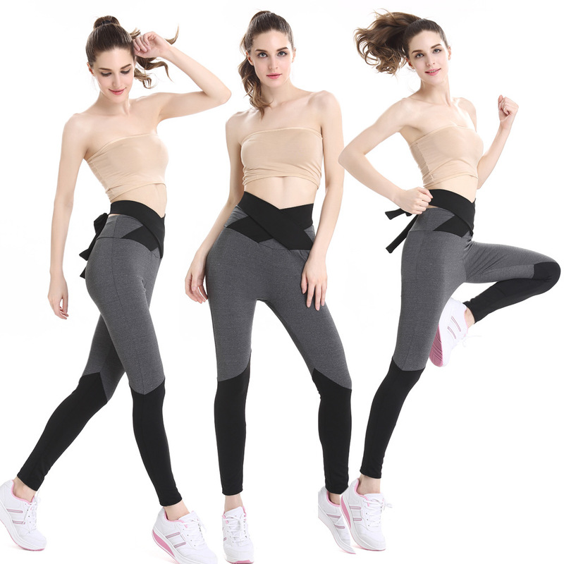 Cross Gym Women Yoga Clothing Sports Pants Legging Tights Workout Fitness Exercise Clothes Running Training Hiking Leggings