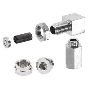 Image 5 - Yetaha CEL Eliminator Check Engine Licht Mini Katalysator Bung Und Stecker Für Die Meisten M18 X 1,5 Gewinde Sensor Spacer
