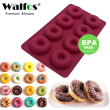 8 Hole Silicone Donut Muffin maker mold eco freindly Chocolate Cake Candy Cookie Cupcake Baking Doughnut mould DIY drop shipping цена 2017