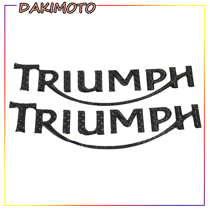 For ALL TRIUMPH DAYTONA 600/650/765/675 Motorcycle 3D REFLECTIVE Stickers Emblem Badge Decal Tank Wheel Logo TRIUMPH