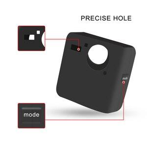 Image 5 - Atirar caso capa protetora de silicone macio para gopro fusão ação câmera habitação capa para go pro fusão câmera acessório