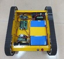 Heavy duty Tracked Mobile Tank font b Robot b font font b Kit b font 10018