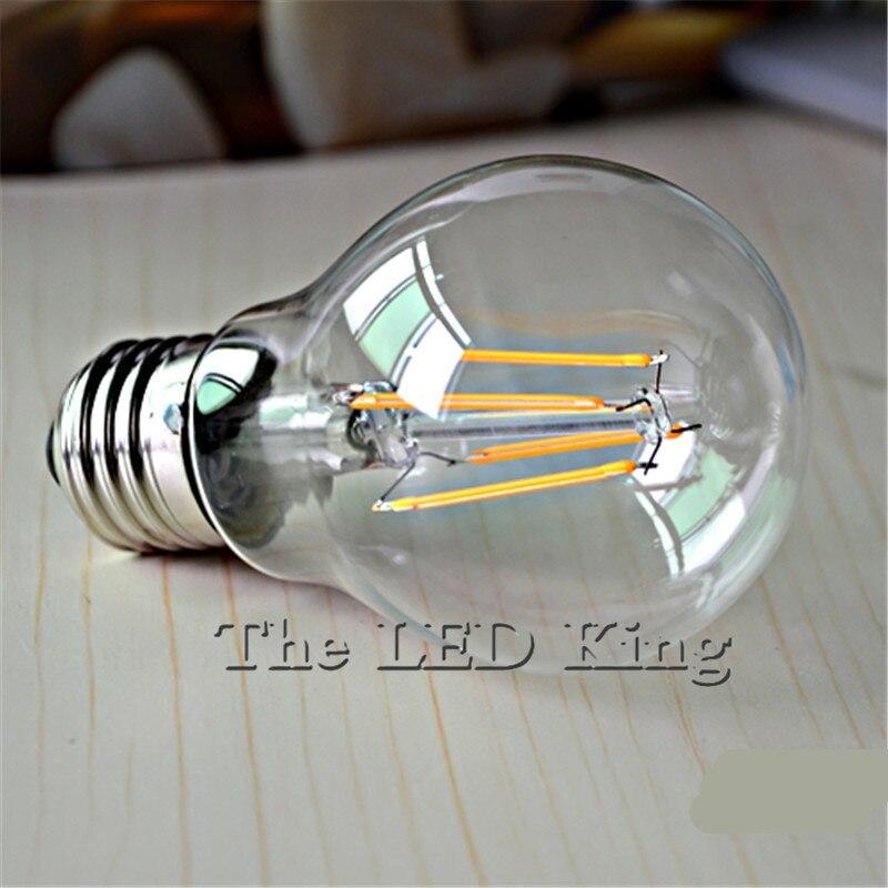 1X низкая цена светодиодная лампа Эдисона E27 винтажная Светодиодная лампа bombillas 220V G45 T185 T300 Ретро лампа накаливания свеча 6W 8W 18W|led lamp 220v|led lamplamp 220v | АлиЭкспресс