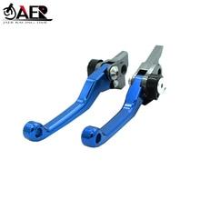 JAER CNC Foldable Pivot Clutch Brake Lever For Suzuki RM125 RM250 1996 1997 1998 1999 2000 2001 2002 2003