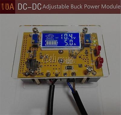 10A DC-DC CC CV Step-down fuente de Alimentación ajustable 12 v 5 v 24 v LCD del metro de voltio amperios