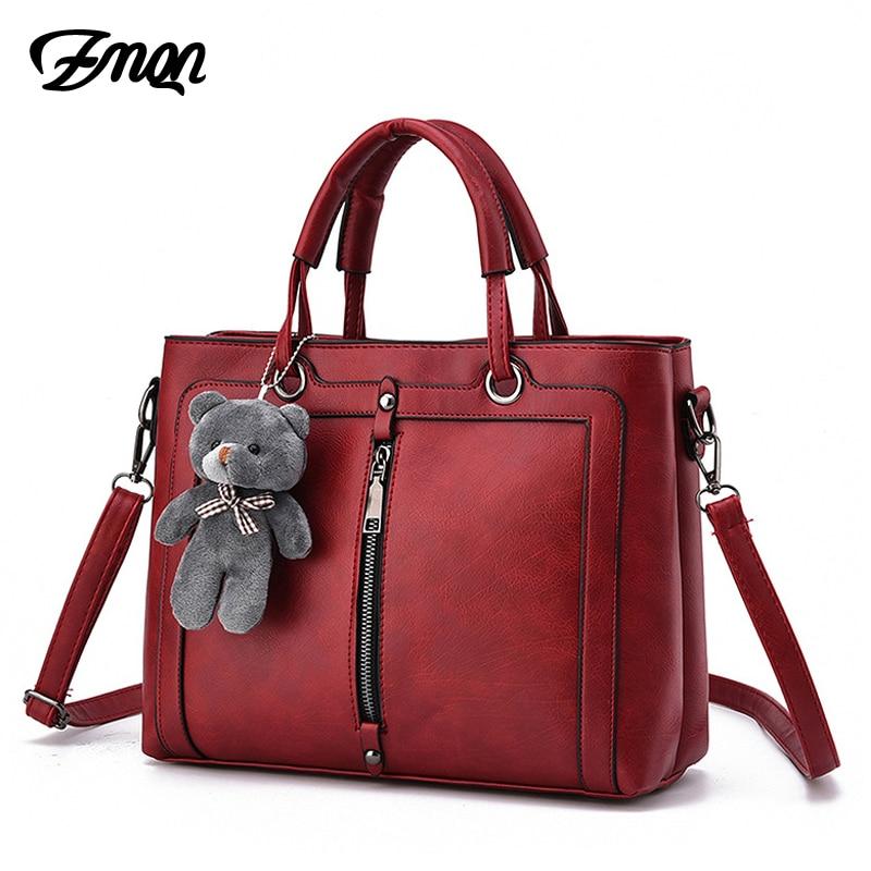 350151b58e01 Роскошные Для женщин кожаная сумочка ретро Винтаж мешок 2018 дизайнерские  сумки Высокое качество известного бренда Tote плеча дамы сумочка 703