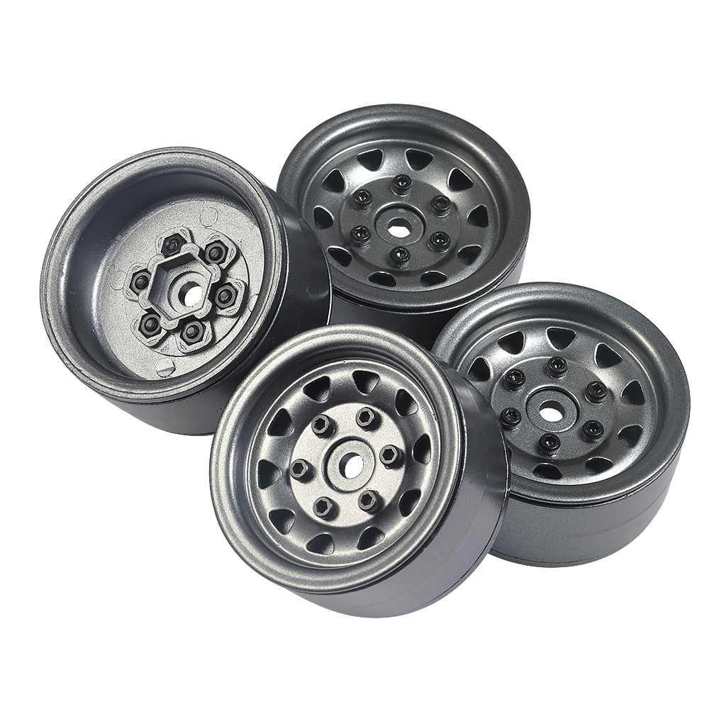 RC Rock Crawler Metalen Velg 1.9 inch No.1 55 voor 1/10 Axiale SCX10 90046 TAMIYA CC01 D90 D110 TF2 wiel Hub