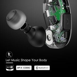 Image 2 - Mpow Cheetah MBH6 2nd generacji bezprzewodowy Bluetooth 4.1 słuchawki z mikrofonem bezprzewodowy połączenia AptX słuchawki sportowe dla smartfonów
