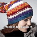 Kenmont Best Selling Fashion Winter Beanie, Icelandic Wool Hat, Hand Knit Lady's Hat, Kenmont Branded Hat KM-1016-03
