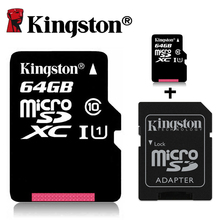 Kingston 32 64 gb tarjeta sd micro clase 10 tarjeta de memoria de 32 gb 64 gb tarjeta sd micro flash microsd 32g tf tarjeta sdhc marca presentó