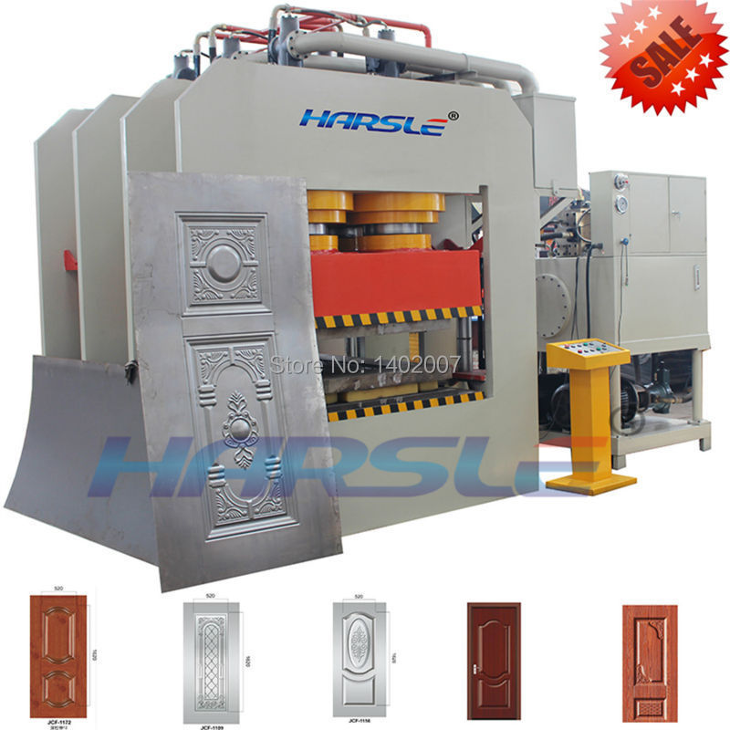 China Manufacturer YM Series steel door embossing press machine with on