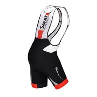 Black White Men S MTB Cycling Bike Bicycle Padded Bib Shorts Braces Pants S 3XL