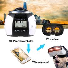 лучшая цена 360Degree Wifi 2448P 30FPS 16M Film Camera for Virtual Glass VR Action Sport
