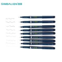 SIMBALION 9 pcs/Lot Fine Multi Needle Drawing Pen Marvy Cartoon Marker brush Liner pigment Pens Anime Stationery School Supplies