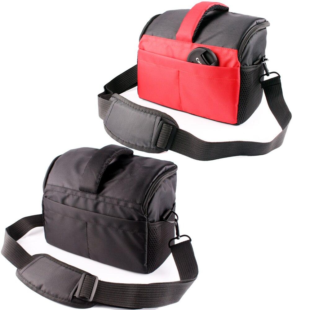 DSLR Camera Bag Shoulder Case For Canon EOS 1500D 1300D 200D 1200D 100D 77D 760D 750D 700D 600D Nikon P1000 D7500 D3300 D5300 multifunctional slr dslr shockproof waterproof camera rucksack backpack travel bag for canon eos 100d nikon d3100 d3200 d3300