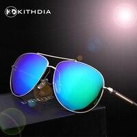 KITHDIA New Brand Designer Classic Polarized Sunglasses Men Vintage Retro Glasses Women Driving Metal Eyewear Glasses