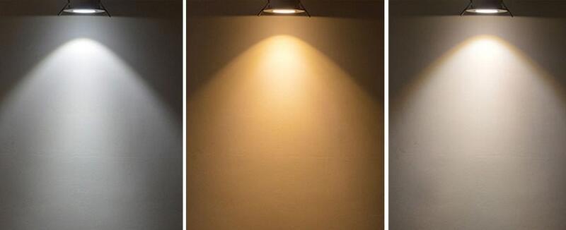 5W 7W 10W COB zatemnitvene LED luči navzdol kvadratne steklene luči - Notranja razsvetljava - Fotografija 5
