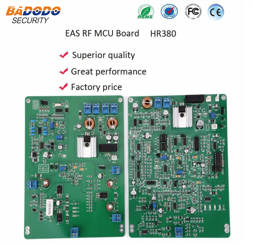 factory whole sale 8 2mhz RF PCB boards 3800 RX TX for eas antenna