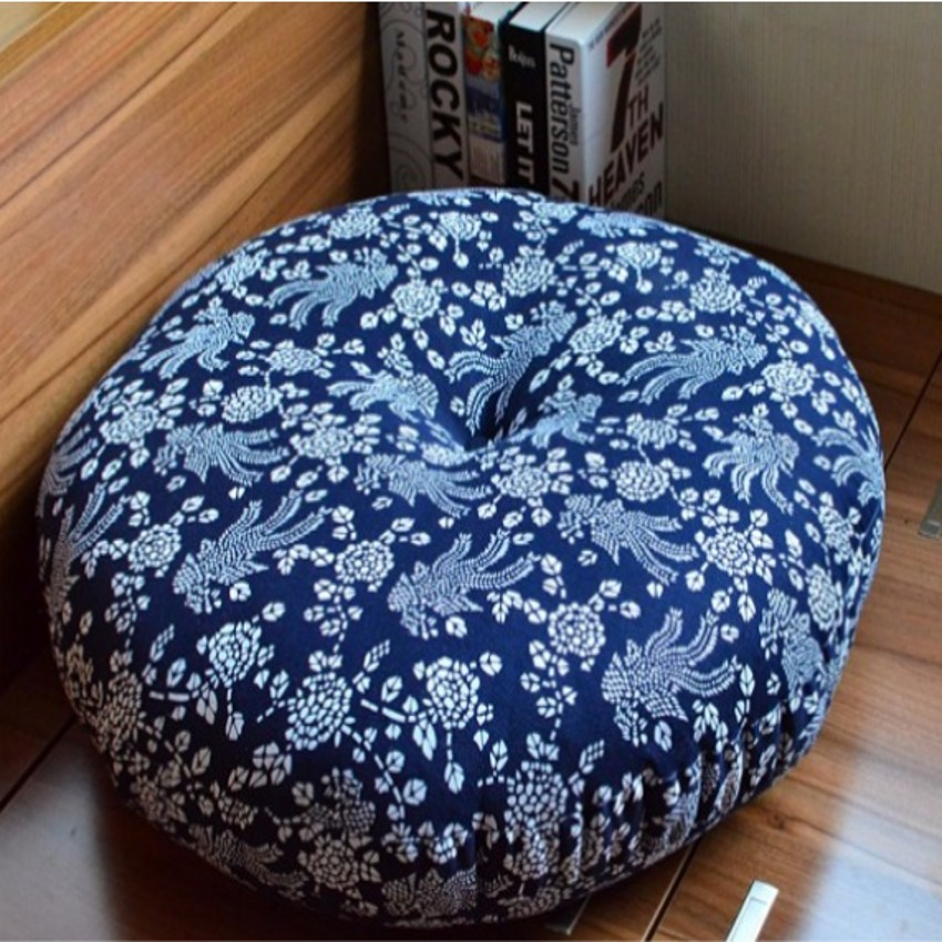 Bohemian Big Size Thicken Round Shaped Tatami Seat Mat, , Sofa Cushion,  Floral Home Decoration Pillow Seat Cushion In Cushion From Home U0026 Garden On  ...