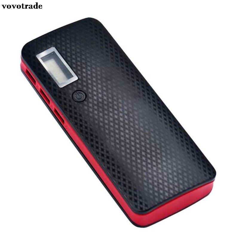 3 USB Ports 5V 2A 5x18650 Power Bank Battery Box Charger For iPhone 6s BK2 Зарядное устройство