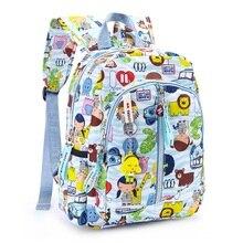Cute Cartoon Doll Cat Printing Mini School Bags Little Girls Colourful Mochila Harajuku Pupils Emoji Backpack Children Satchel