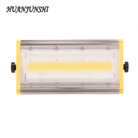 HUAN JUN SHI 50W Modular Line LED COB Flood Light AC220V Led Projector Light Refletor Led