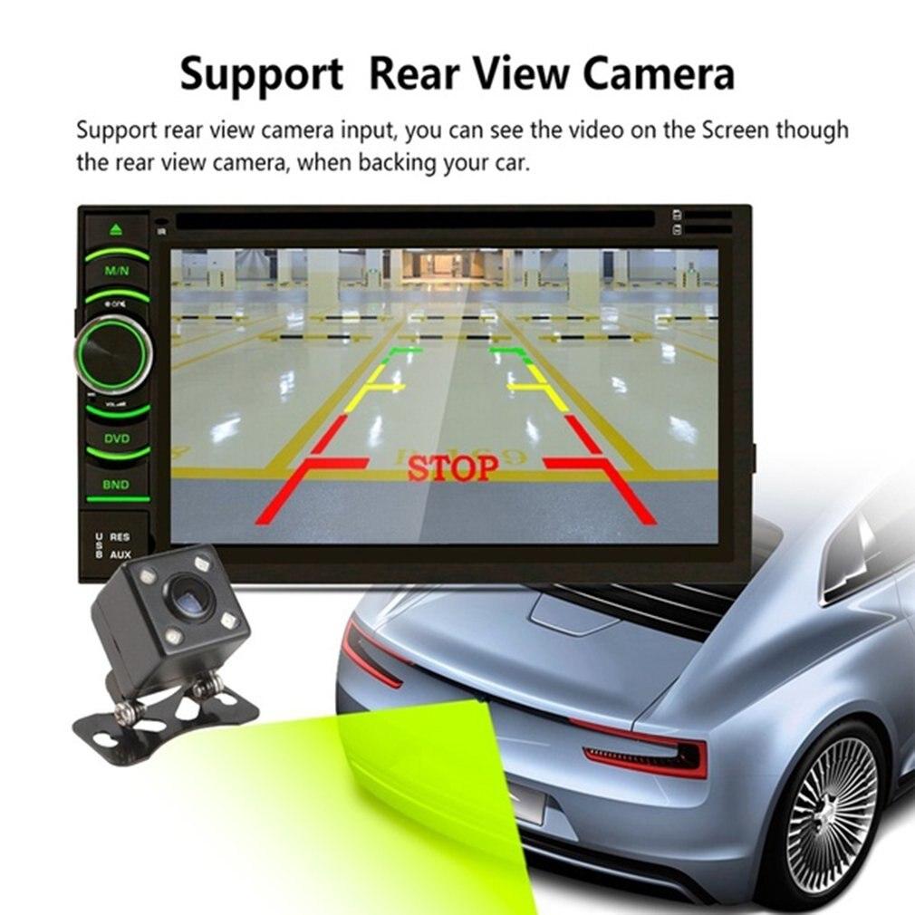 Lecteur DVD universel de voiture de véhicule 7 pouces HD écran tactile MP5 lecteur WiFi Module pour Android 6.0 avec Radio GPS