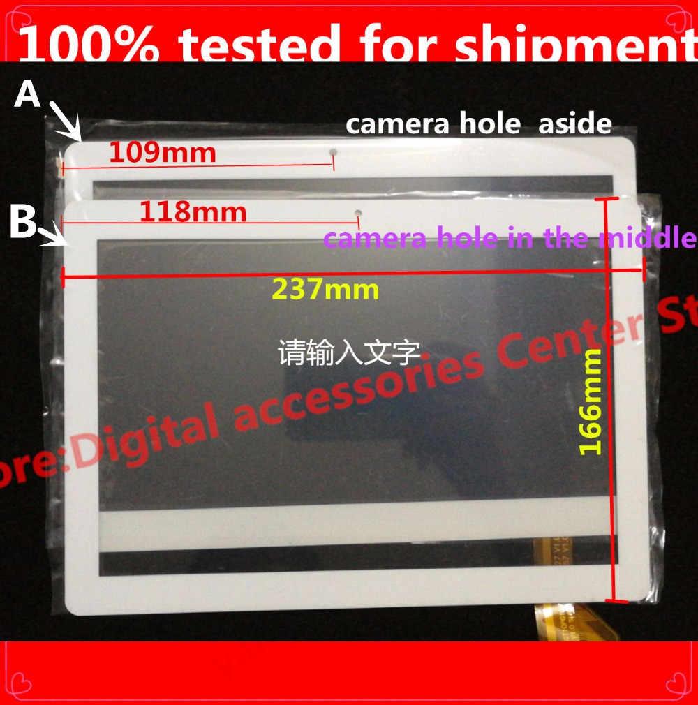 """جديد 10.1 """"بوصة اللوحي Repairment OEM متوافق مع gt10pg127 flt GT10PG157 V1.0 منتصف شاشة تعمل باللمس الأبيض والأسود"""